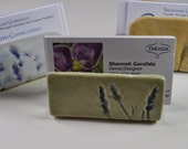 Lavender business card holder, place card holder