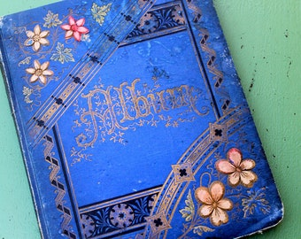 Charming Victorian Album 1882, on sale
