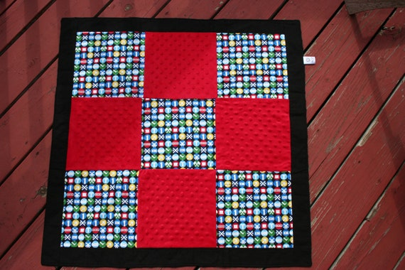 Trains Baby/Toddler Quilt