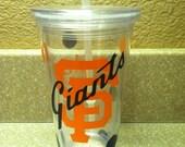 SF Giants- Acrylic Cup