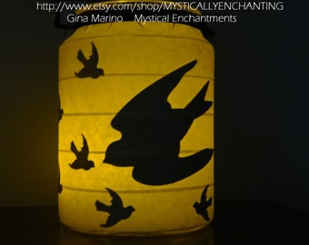 SALE Halloween Lantern Flying Birds 360 degrees
