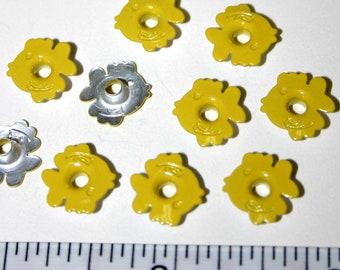 100 3/16 Yellow Fish Eyelets