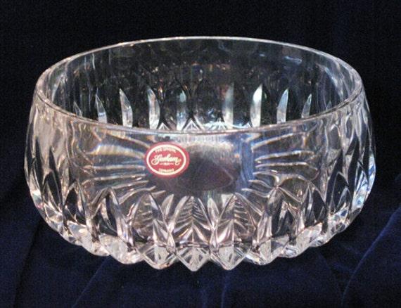 Gorham Cut Crystal Round Bowl Althea By Wrappedroundmyfinger