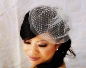 8 inch Petite Double Layered Birdcage Veil