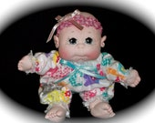 Soft Cloth Baby Doll, Baby Girl 10""