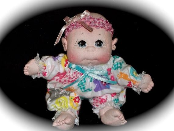 "Soft Cloth Baby Doll, Baby Girl 10"""
