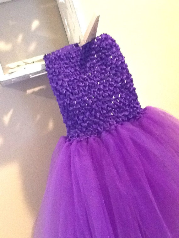 how to make a tutu dress with crochet top