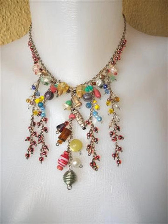 Colourful Beady Necklace
