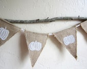 Autumn Pumpkin Bunting