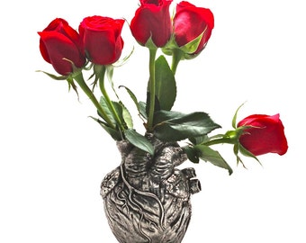Anatomical heart vase from Blue Bayer Design NYC