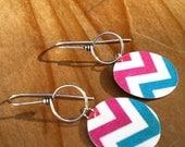 Chevron Zig Zag Earrings