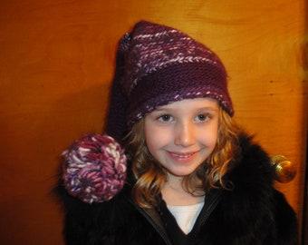 """Girl's """"elf"""" winter hat"""
