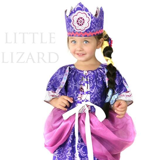 Crown Sewing Pattern, Princess Tiara, Birthday Party Hat Tutorial - 3m-adult