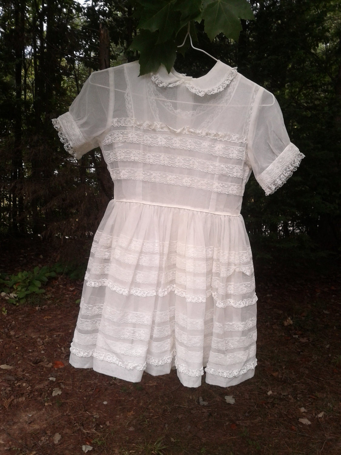 Vintage 1950s Or 1960s First Communion Dress Amp Matching
