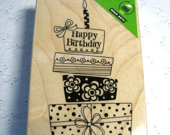 Birthday Gift - Hero Arts Rubber Stamp