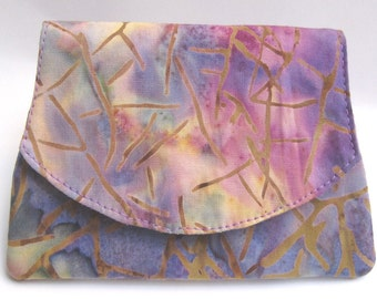 Stained Glass Small Batik Wallet