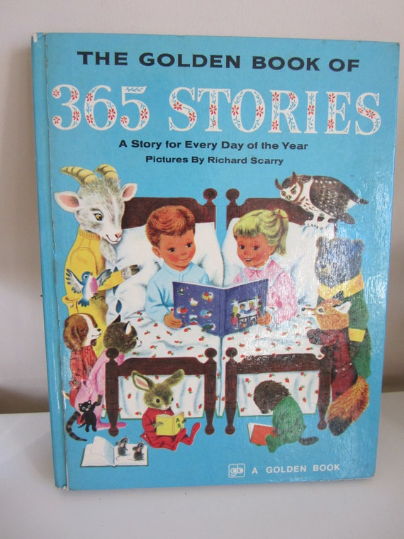 Vintage Golden Book 365 Stories Illustrated by Richard Scarry
