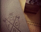 """25 Knights of  Pythias Letterpress Gift Tags (3.5"""" x 1"""")"""