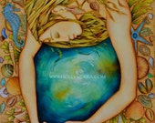 Oceania - A Fine Art Greeting Card