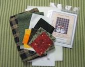 Snowman Friends Tea Towel Kit with Pattern