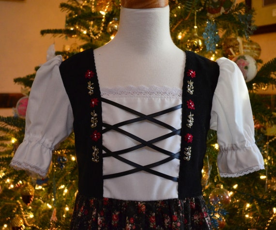 A Christmas Dress for Ethel Size 5/6 -Ready to Ship SALE PRICE