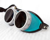 Choose your color basic leather steampunk goggles