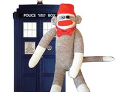 Dr Who Sock Monkey Doll