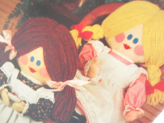 Vintage Cloth Doll Sewing Pattern: Butterick 428