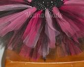 Black, Fuchsia, Hot Pink and Pink tutu sizes newborn 3 mo 6 mo 9 mo 12 mo 18 mo 24 mo 2t 3t 4t 5 6 8 10 12 14