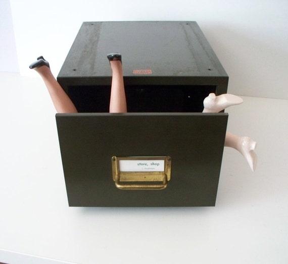 Industrial Storage Large Industrial File Box Drawer