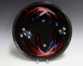 Colorful Stoneware Platter