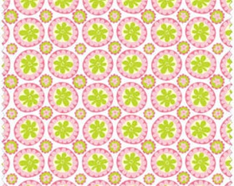 Blend Fabrics, Animal Parade by Ana Davis 11310202-1 (Pink) 1 yard