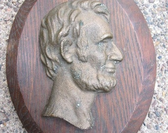 Antique Abe Wall Hanging