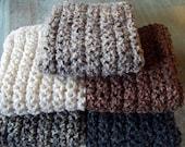 Newborn Photo Prop Blanket Newborn Baby Photography Prop Hand Crochet Blankets Pick your color