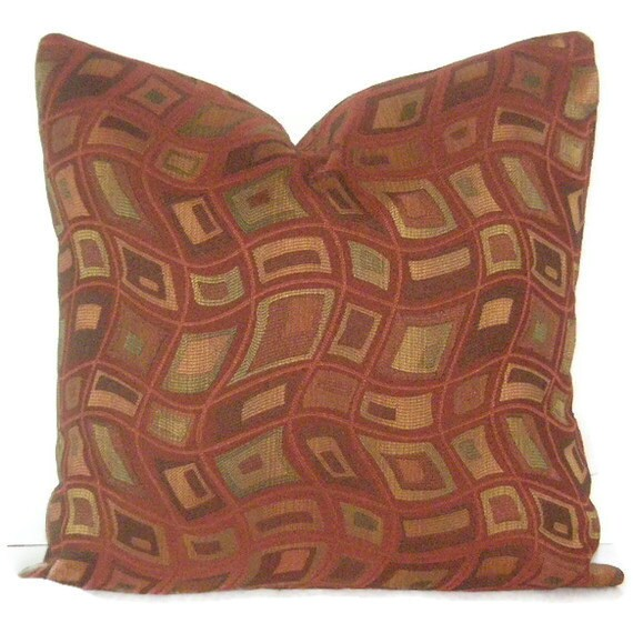 Decorative Pillow Cover 20 X 20 Burnt Orange Throw