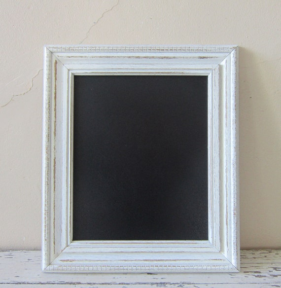 Framed Chalkboard - French Market - Shabby and Chic - Cottage chic home decor