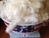 6 oz. WASHED White Mohair