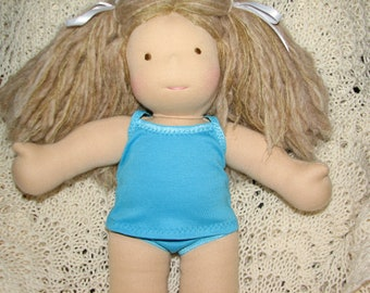 "MADE TO ORDER -  Doll Underwear or Bathing Suit Tankini Underpants & Cami Camisole 10"" - 18"" dolls"