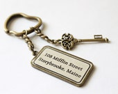The Mayor's House Key Ring (OUAT) - CissyPixie
