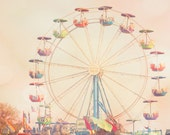 ferris wheel art purple nursery decor wall art carnival photography boy nursery girl nursery photography print