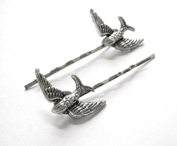 Bird Bobby Pins