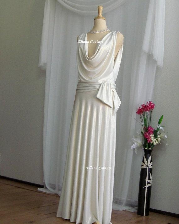 SAMPLE SALE. Vanessa - Retro Glam Bridal Gown.