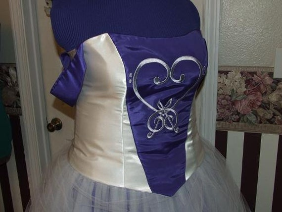 Custom Reserved Gown for - monicawesome - Embroidered Wedding Gown