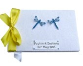Dragonfly Wedding Guest Book
