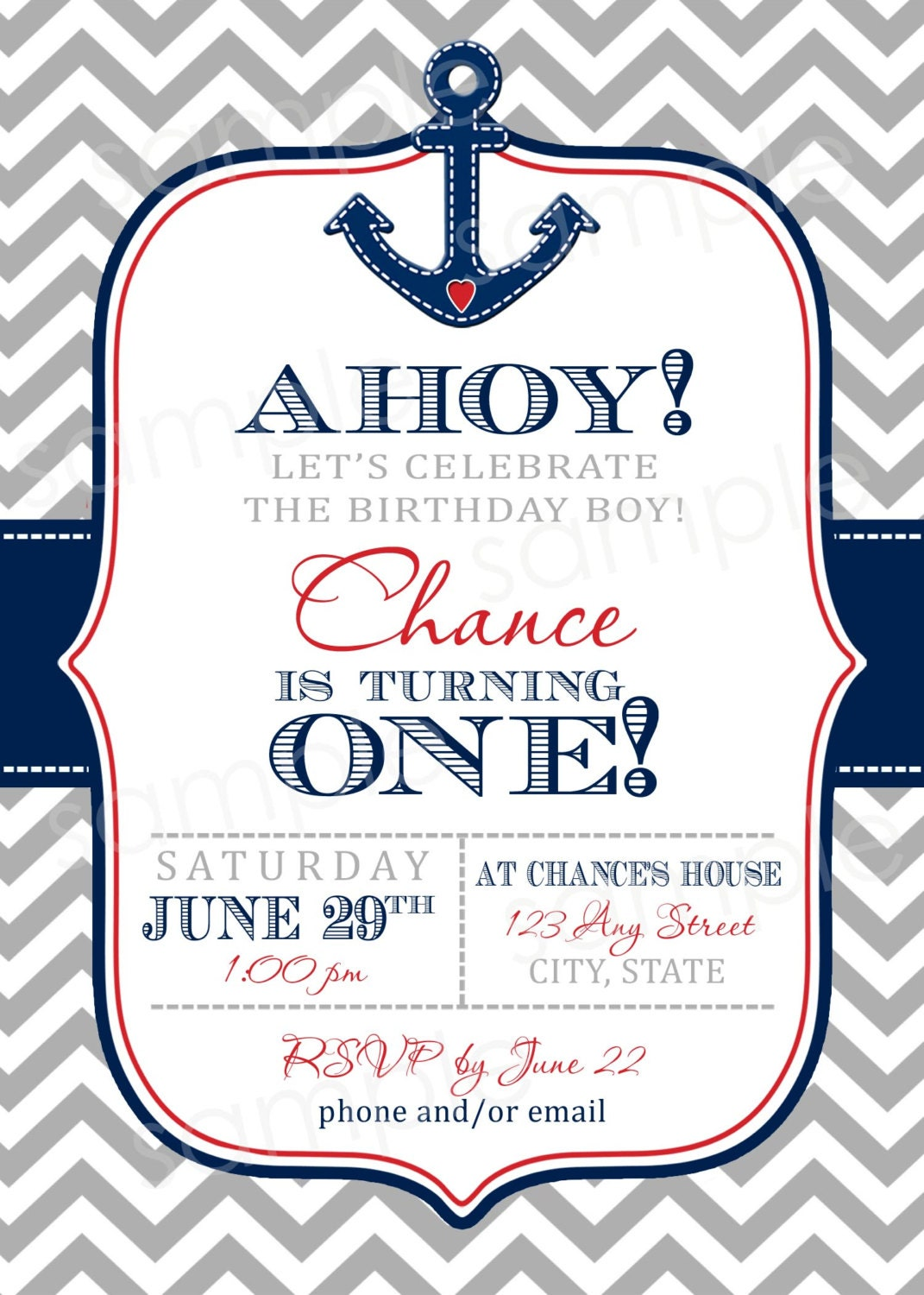 Anchor Invitations with luxury invitation ideas