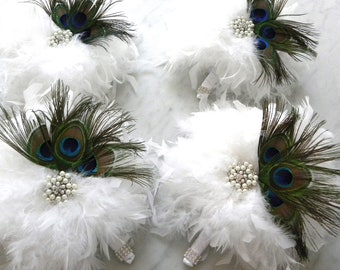 5 Piece Peacock Bridal Package