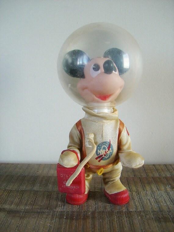 Vintage Disney Mickey Mouse NASA Astronaut