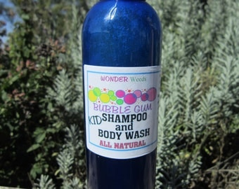 Children's Shampoo/Bodywash, ALL NATURAL