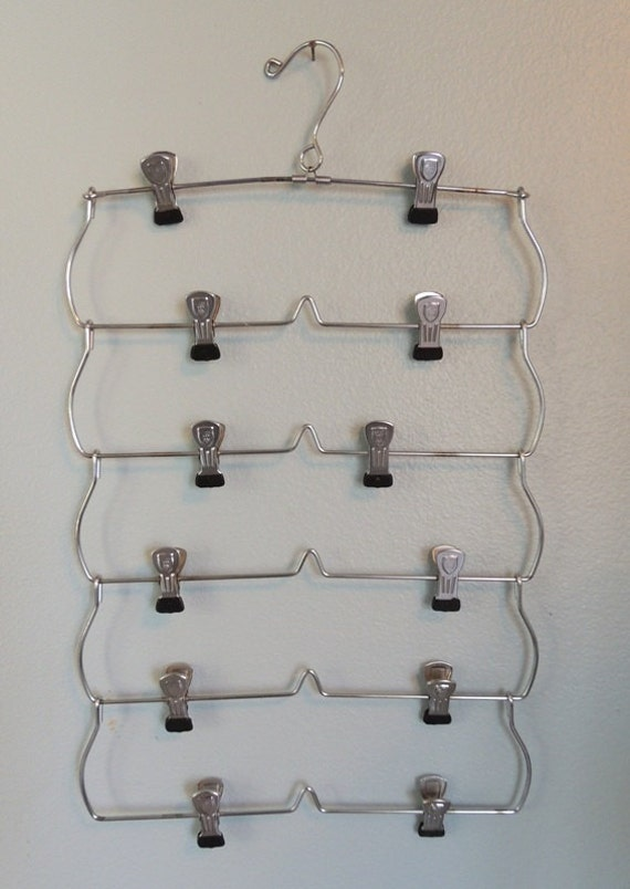 vintage skirt hanger six tiered ( reserved for Andrea)