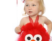 Elmo Birthday Party Tutu Dress